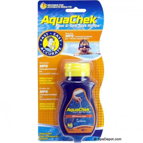 AquaChek ® Spa ™ Pool and Spa Test Strips for MPS