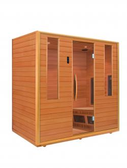 Infrasauna HCED Duo Glass